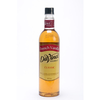 DaVinci - French Vanilla Syrup - 750ml bottles